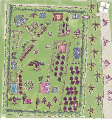 Resort's Map