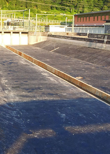 Gussasphalt Wasserbau