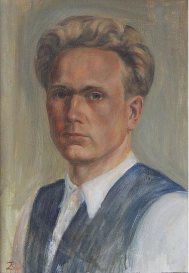 Karl Lang Selbstportrait Archiv Büsingen