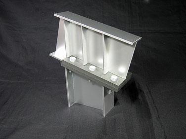 H鋼部分カット模型