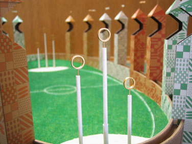 クィディッチ競技場模型