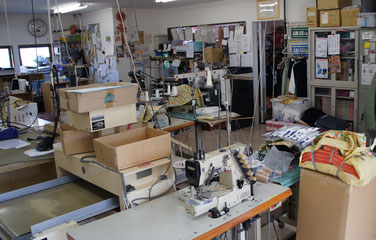 栃木県足利市の縫製・洋服製作 アロハキキ