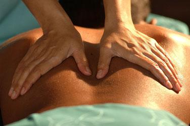 massage  pour une détente musculaire