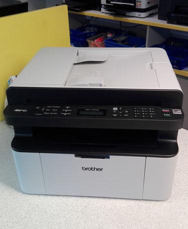 Kompaktes 4-in-1 Multifunktionsgerät mit Laserdruckwerk