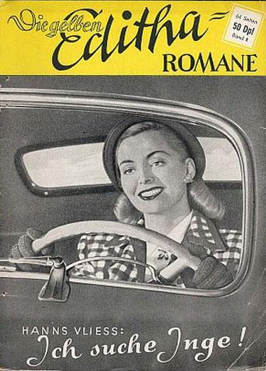 Die gelben Editha Romane Band 1