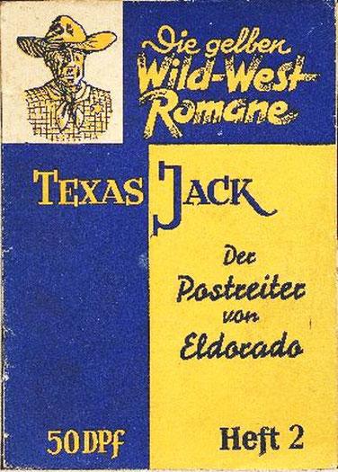 Die gelben Wild-West Romane 2
