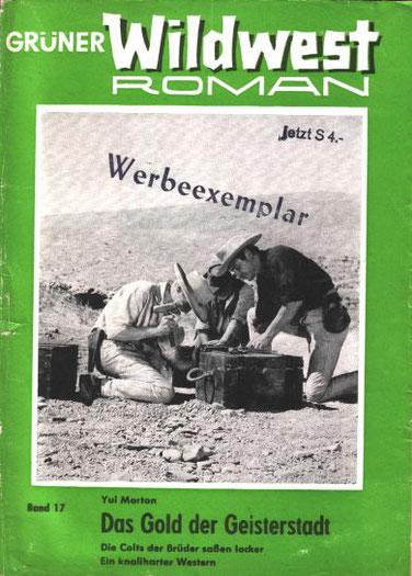 Grüner Wildwest Roman 17
