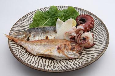 島づくり海社オリジナルの特産品「魚々干し」