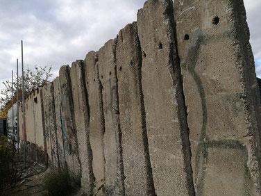 In Berlijn vind je nog altijd talloze restanten van de Berlijnse Muur