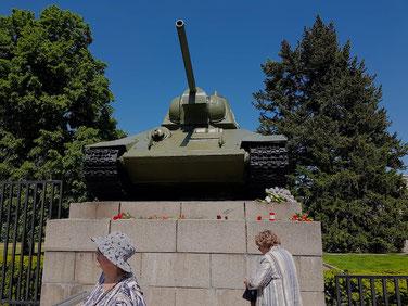 De gidsen van Berlijn op Maat vinden ook het Russische perspectief van de Tweede Wereldoorlog belangrijk