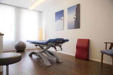 Die Behandlungsräume im Faszienzentrum Nord in der Hafencity Hamburg