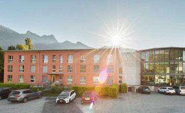 Swiss Heidi Hotel Maienfeld, Gesamtansicht Gebäude