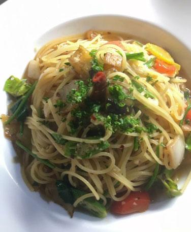 夏野菜のペペロンチーノ(9月5日予定)
