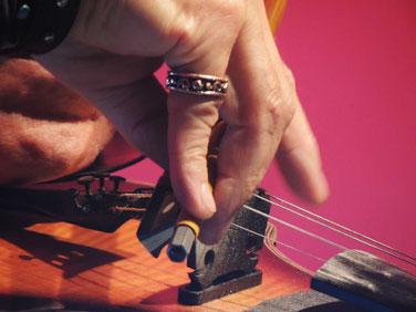 """""""Joro"""" mit seinem zauberhaften Fingerspiel an seiner Geige"""