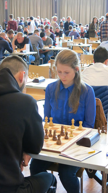 Melanie Lubbe, GRENKE Chess Open