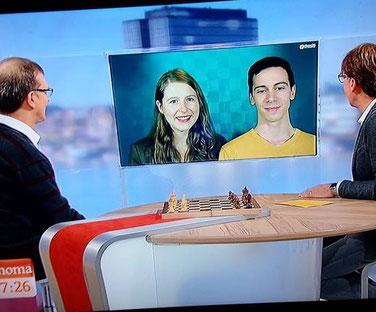Melanie und Nikolas Lubbe zu Gast beim ARD Morgenmagazin