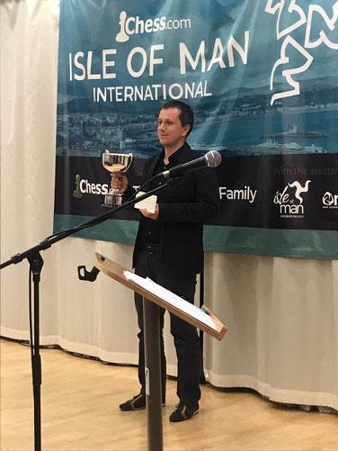 Radek Wojtaszek, Sieger des Isle of Man 2018