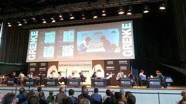Magnus Carlsen, GRENKE Chess Classic