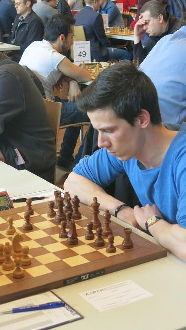 Nikolas Lubbe, GRENKE Chess Open