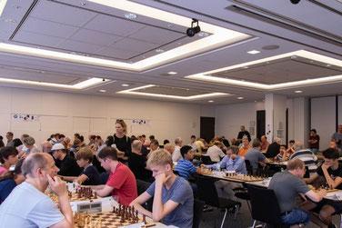 Lüneburger Schachfestival 2019, Turniersaal