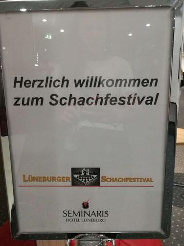 Lüneburger Schachfestival 2019, willkommen