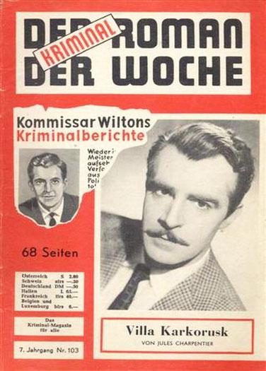 Der Kriminalroman der Woche 103