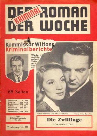 Der Kriminalroman der Woche 111
