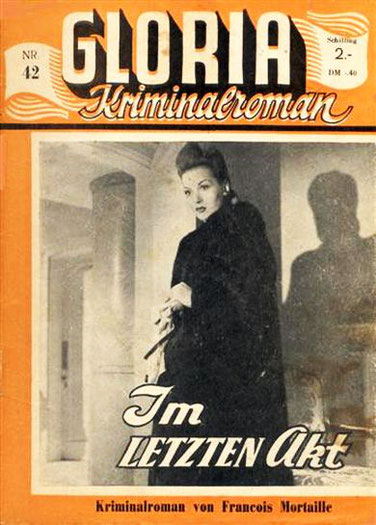 Gloria Kriminalroman 42