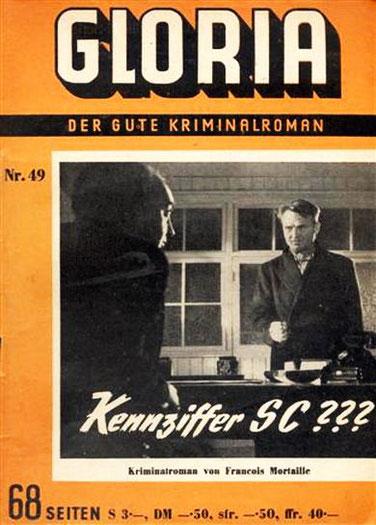 Gloria der gute Kriminalroman 49