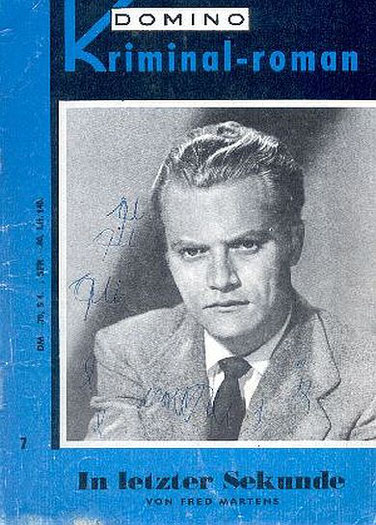 Domino Kriminal-Roman 7 (James Cagney oder Vic Morrow ?)