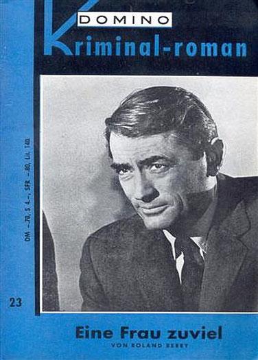 Domino Kriminal-Roman 23 (Gregory Peck)