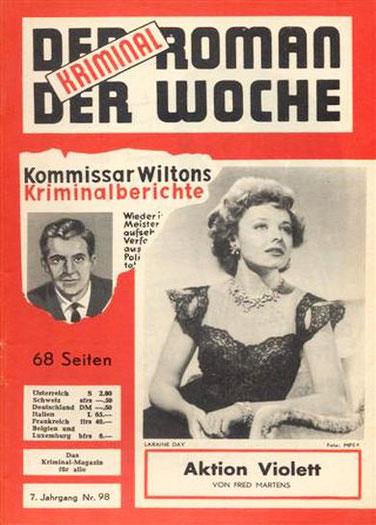 Der Kriminalroman der Woche 98