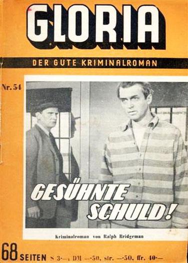 Gloria der gute Kriminalroman 54