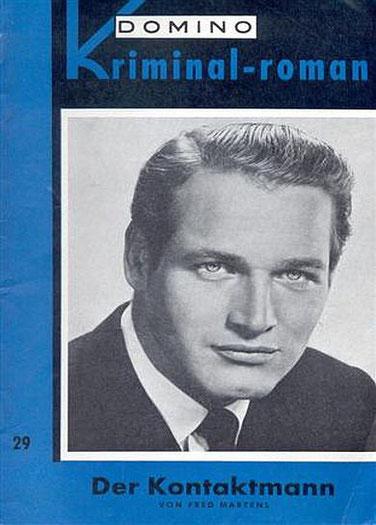 Domino Kriminal-Roman 29 (Paul Newman)