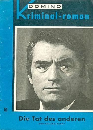 Domino Kriminal-Roman 51 (Gregory Peck)