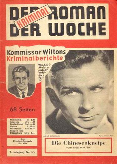 Der Kriminalroman der Woche 109