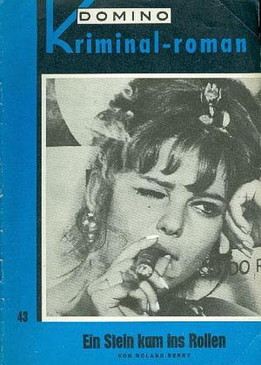 Domino Kriminal-Roman 43  (Sophia Loren oder Brigitte Bardot ?)