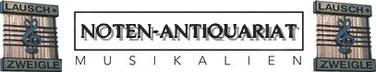 Antiquariats-Sommer: antiquarische Noten und Musikbücher zum besonders günstigen Preis nach Gewicht!