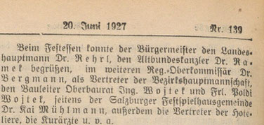 "Quelle: ""Salzburger Chronik"", 20. Juni 1927, S. 4"