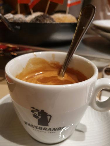 Kaffeegenuß in der Stiegl Brauwelt