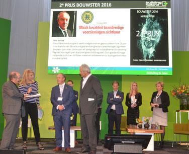 MEB-register tweede prijs Bouwster 2016 tijdens Building Holland