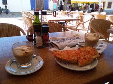 Frühstück in Santa Gertrudis