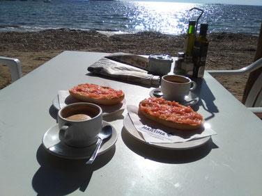 Restaurant Martina in Playa Cala Martina