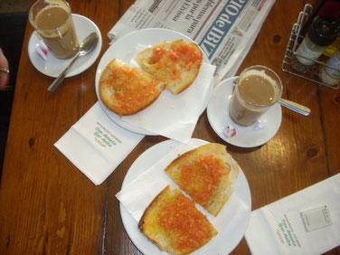 Tomatenbrot Bar Anita in Sant Carles