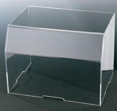Cloche rectangulaire sans base 9402507 und 9402510, FMU GmbH, Accessoires de vente