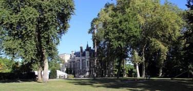Château Belle Epoque à Linxe 40, chambres d'hôtes et gîtes