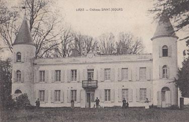 Château St Jours ancien château belle epoque à Linxe 40
