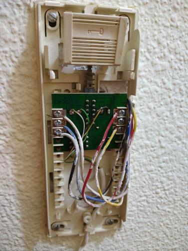 Ejemplo interior telefonillo Fermax antiguo