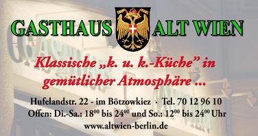 alt Wien berlin