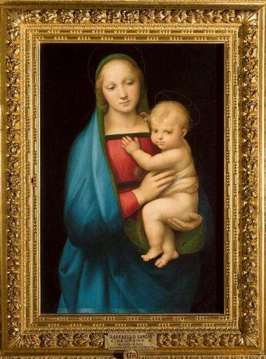 Мадонна Грандука - самые известные картины Рафаэля